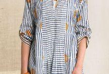 blouses motif garis