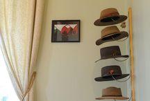 Colgadores de sombreros