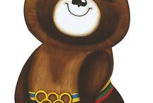 Mascots of the Olympics