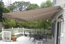 Retractable Awning with Lighting