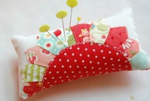 Pincushion / A fun place for your pins to hang out!