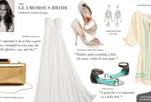 Wedding Inspiration: Chrissy Teigen / The swimwear supermodel's picks for the Glam bride  / by Shopbop