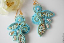 Soutache / Earrings 3