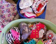 Cloth Diaper Storage / cute, creative, and awesome ideas for cloth diaper storage