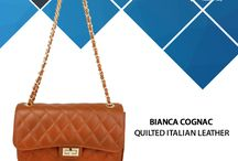 BIANCA COGNAC BAG