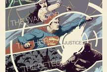 ⍟comics world⍟ / Komiksové postavy prevažne z DC a Marvel...