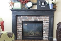 Fireplace and Family room / by Kristin P