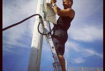 Trabajos Eléctrica Isleña - Feria de San Fernando / Instalación de antena en San Fernando, http://xn--electricaislea-2nb.es/servicios/instalacion-antenas