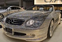 blinged car
