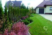 Ogród w okolicach Lublina