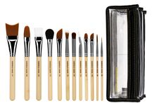 BDSFX: Cinematic Makeup / Bdellium Tools SFX series brushes are professional, eco-friendly makeup brushes built to handle strong dyes and makeup products and create stunning special effects looks. The bristles and brush adhesives are specially formulated to withstand most solvents and brush cleaning solutions. Achieve flawless, reality-defying looks with the SFX series.