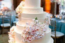 tårtor å blommor