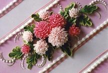 vajkrém virágok