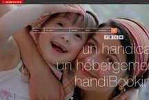 On the web / Un #handicap ? Un hébergement ? Ne cherchez plus, #handiBooking est là pour vous. #handiBooking est une plate-forme de réservation spécialisée dans l'hébergement adapté aux personnes en situation de #handicap, qui a pour objectif être une entrée sur le #monde et le #web pour toutes les personnes en quête de solutions pro-handicap ! Les vacances pour tous, sur www.handibooking.com !
