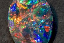 Opals / The fantastic colors and radiant luminesense make these such popular stones.