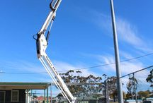 cherry picker hire Melbourne / Skyhigh cherry picker hire Solutions is a truly unique 'one stop shop' for all your access and 'Skyhigh' needs. We cater to our commercial customers by providing state of the art Spiders, Booms and Scissors of all shapes and sizes at industry best rates.