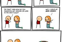 Laugh! :D / Puns, Jokes, Pranks, etc. / by Olivia Tranovich