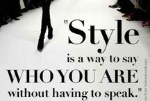 Fashion Quotes / by Ana Gavino