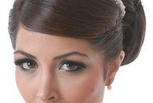 real brides, hairstyles, models