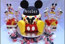 Mikie mouse temalı pasta