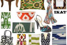 Visual Inspiration / Papers and fabrics and patterns that kickstart my imagination