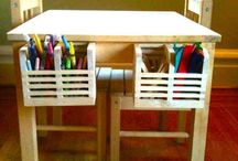 Kids activity tables / Kids stuff