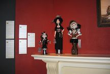 Steam Punk Cloth Dolls