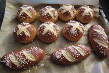 kenyér sütés, tészták