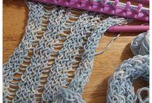 Loom knitting / by Caroline Gill