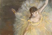 Artist Study : September : Degas / Artist in residence - Edgar Degas - studying art at home