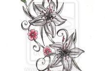 Lábfej tetoválás