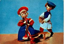 Russian Doll Postcards