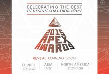 2015 Apex Awards / Come and see who is leading innovation by design