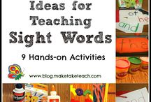 Sight words / by Aly Bellamy