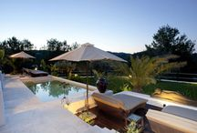 Ibiza Stylish Gardens & Terraces / A collection of outside areas from different luxury villas for sale or rent