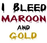 Maroon and Gold - Fire Up Chips!