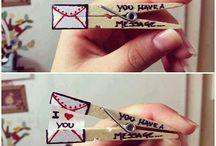 idéias criativas - Amor