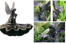 Self Contained Garden Water Features and Fountains / Beautifully designed and energy/cost efficient garden water features and fountains.