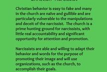 Narcissist/Sociopath Religion