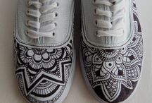Painted objects & shoes