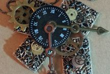 Steampunk Style / Recycled vintage jewerly and accessories
