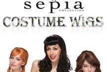 Sepia Costume Wigs / Sepia Costume Wigs Ice Queen, Ahnna, Catherine, Kitty, BL Phoenix (Blush)
