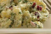Receptek: saláták, hidegtálak