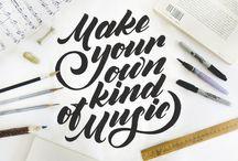 Typography - Script