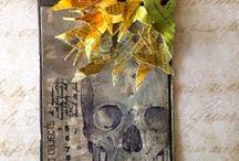 Craft * Tag/Card Halloween