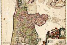 Maps / kaarten Noord-Holland / Kaarten van (delen) van Noord-Holland.