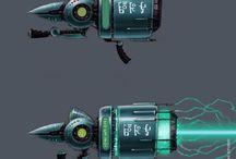 armes fictives