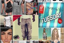 Hello Tuesday Weekly Event / ONE DAY 50L$ and 50% OFF SALE!  -FOLLOW US- •Blog: http://cosmopolitansl.blogspot.com/ •Facebook Group: https://www.facebook.com/groups/cosmopolitansalesevents/ •Facebook Page: https://www.facebook.com/cosmopolitanSL/ •Flickr: http://www.flickr.com/groups/slebrity_slection_street_sale/ •Or join the SUBSCRIBER to stay informed! No group slot needed! •LM: http://maps.secondlife.com/secondlife/No%20Comment/131/61/22