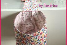 couture objets, sacs, ...