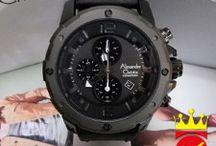 Jam Tangan Alexandre Christie Kulit